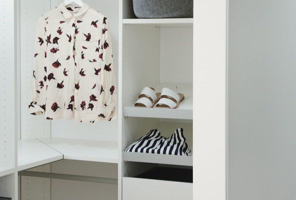 Drømme-garderoben på plass!
