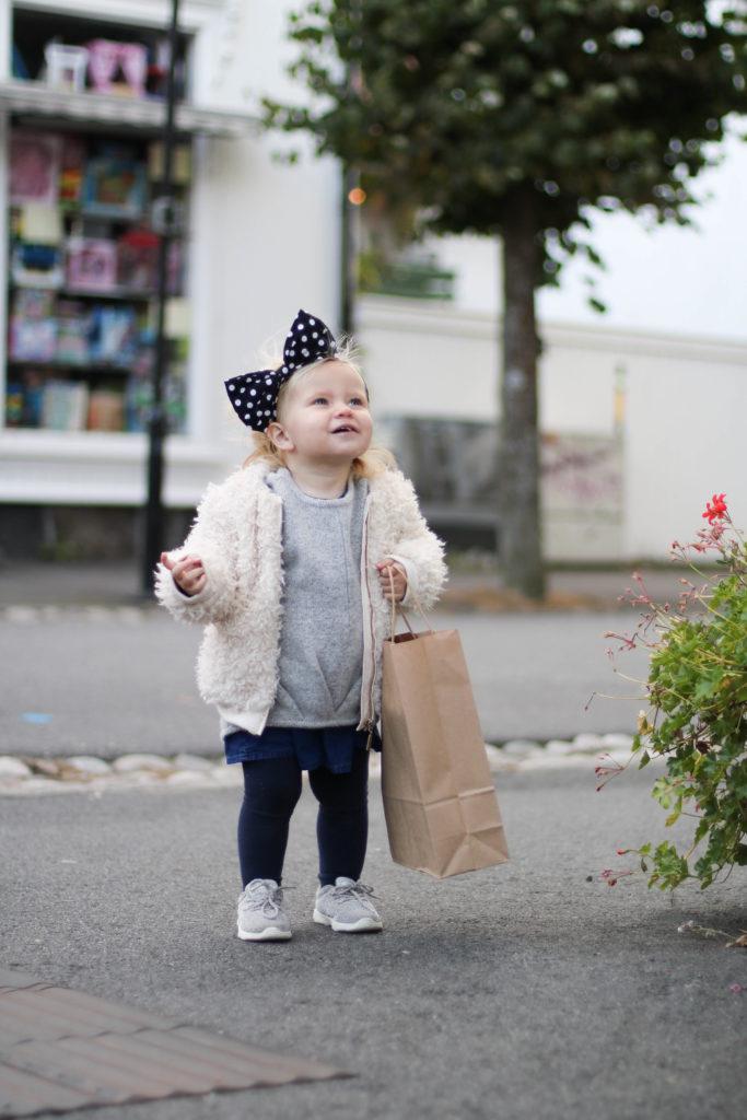 Pizza og shopping i stavern