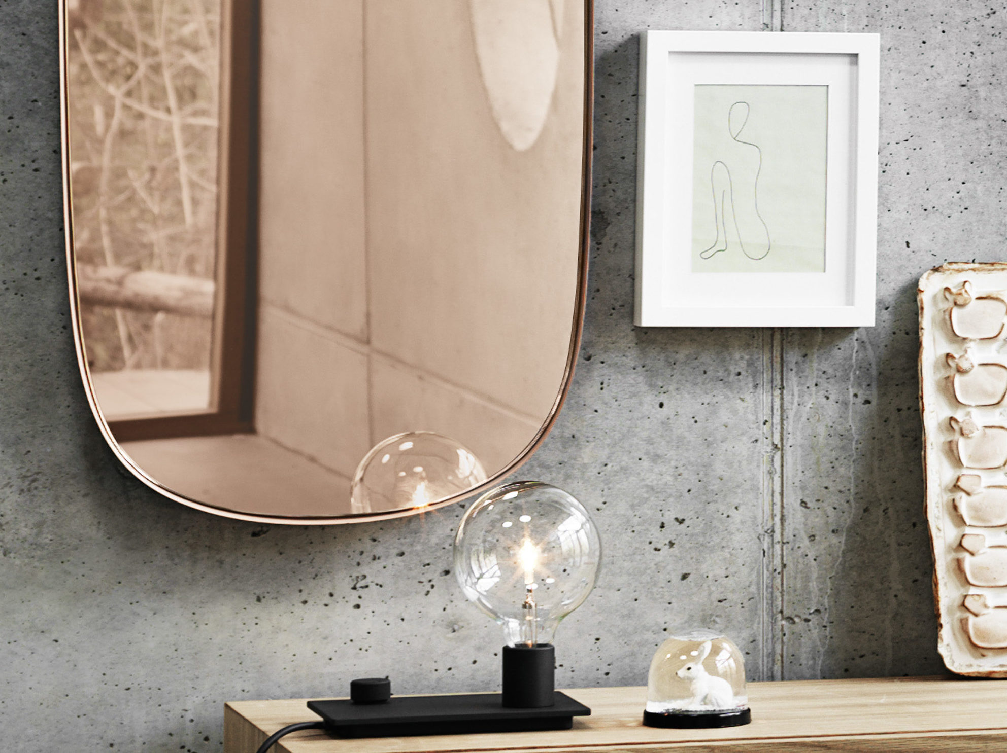 Framed mirror giveaway